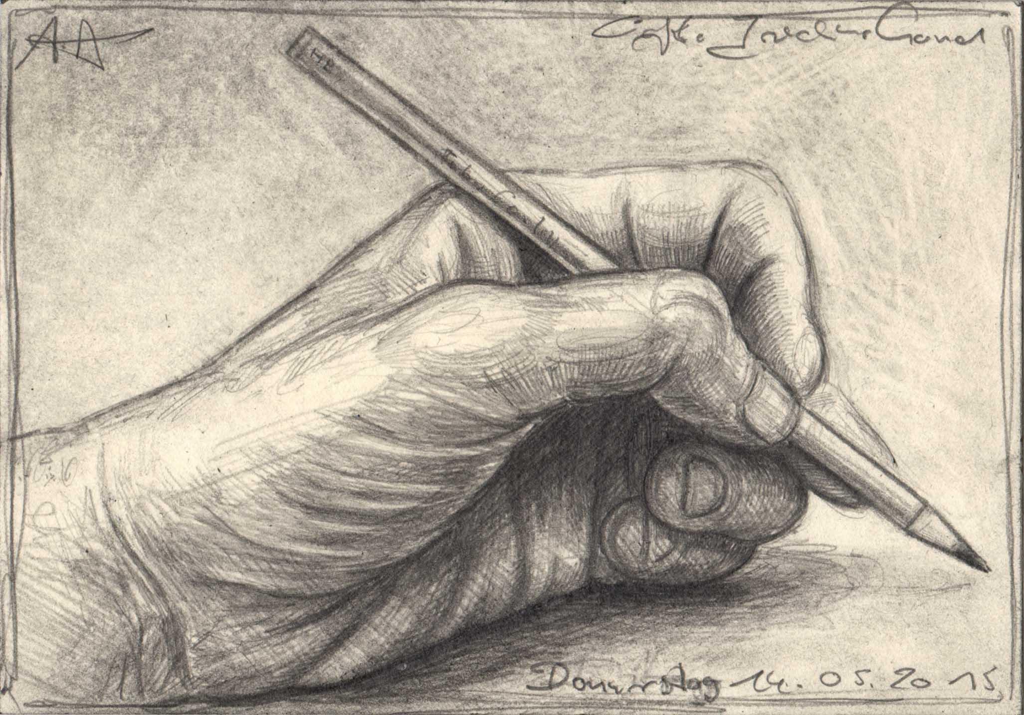 Artists left Hand
