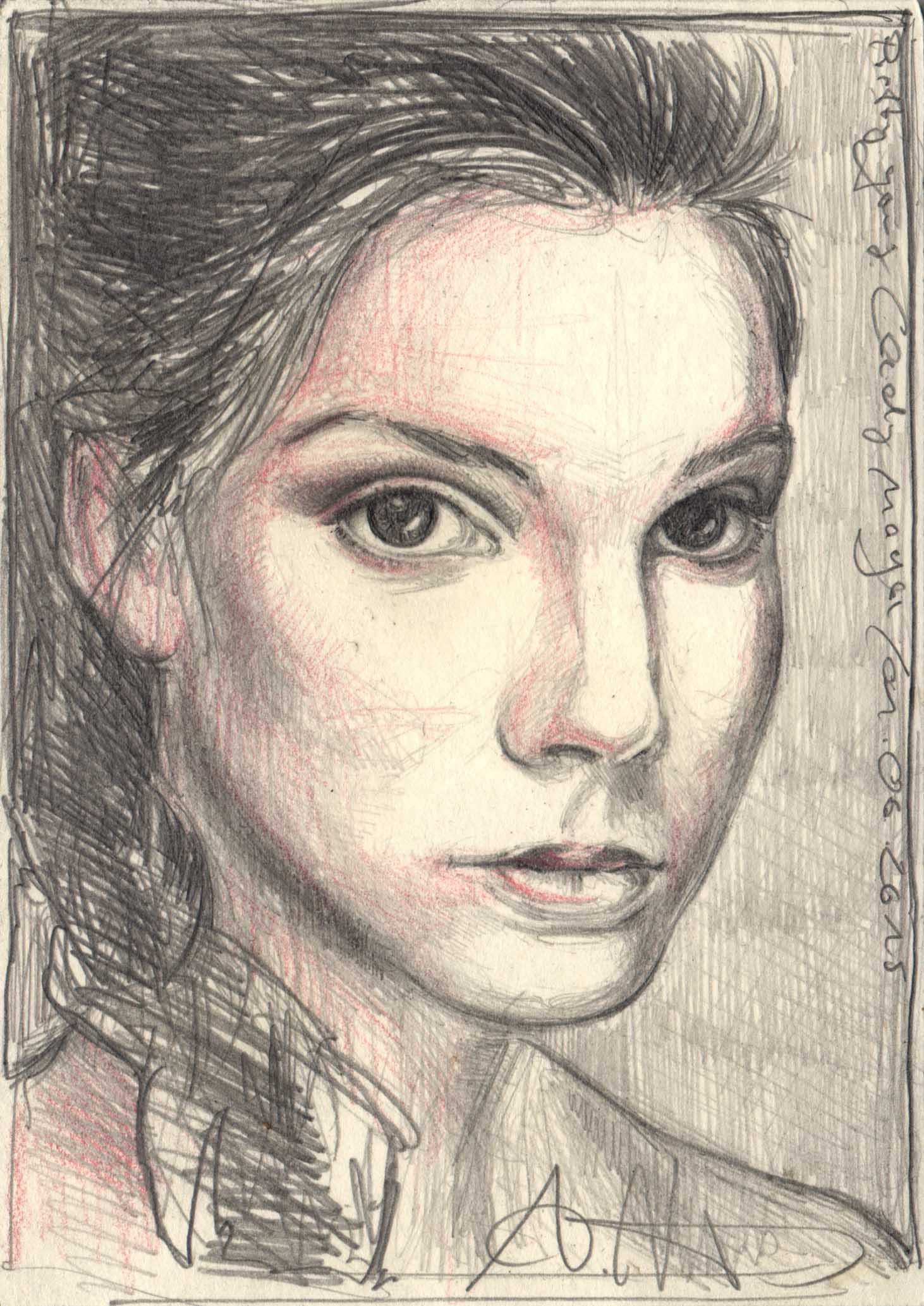 Pretty young lady Maja