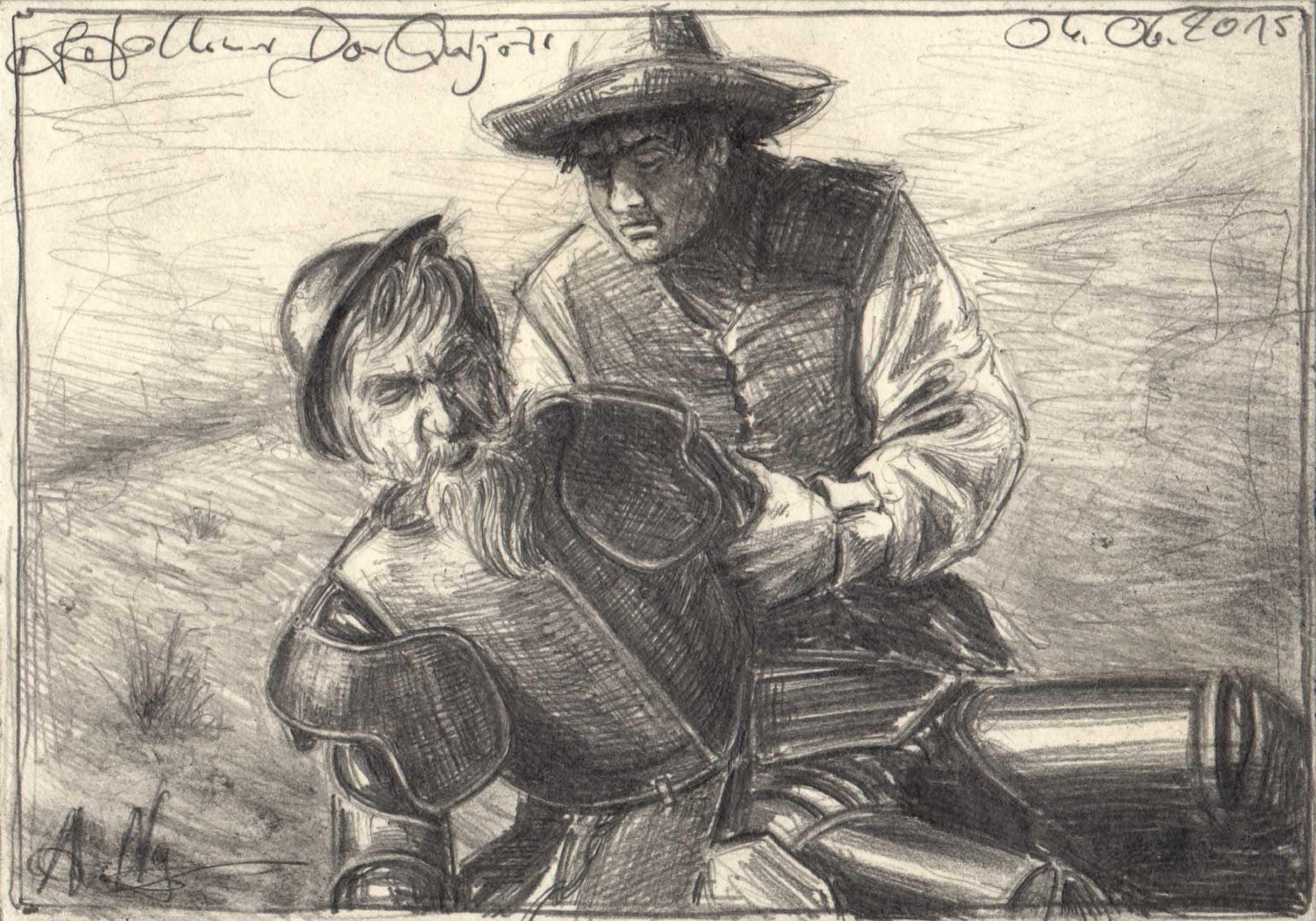 Fallen Don Quijote