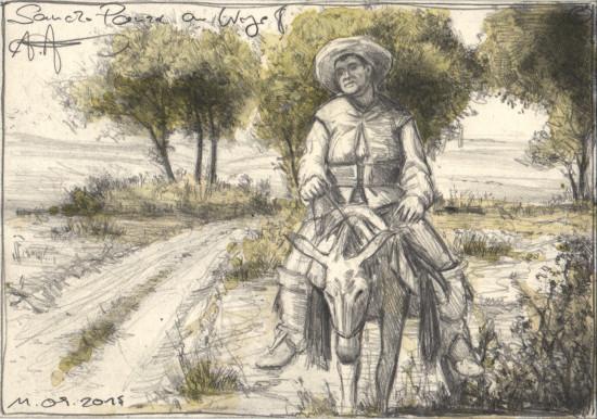 Sancho Panza on the Way