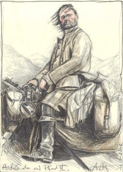 Highlander on Horse II.