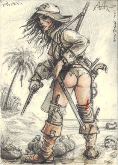 Caribbean female Outlaw