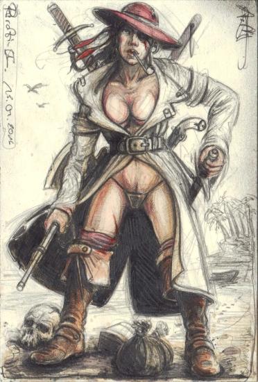 Caribbean female Outlaw II.