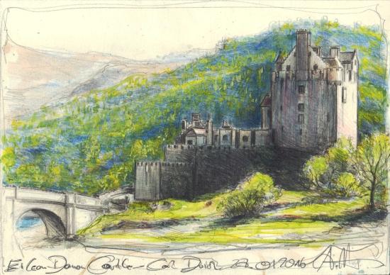 Eilean Donan Castle - Loch Duich