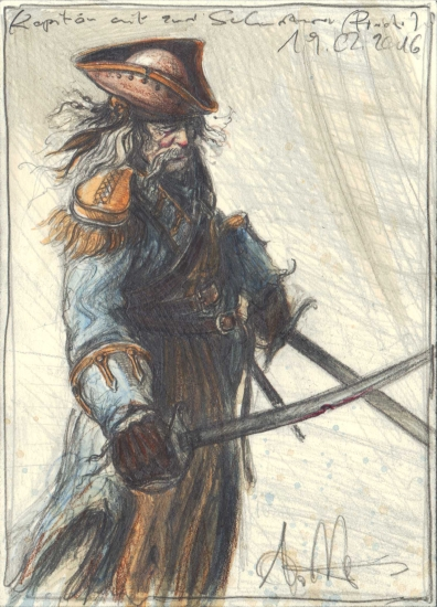 Captain with two Swords
