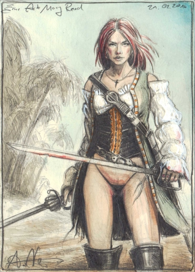 A kind of Mary Read