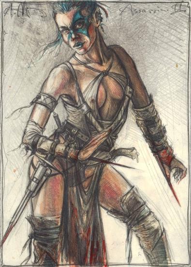 Female Assassin II.