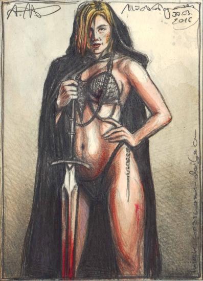 Monk female Warrior