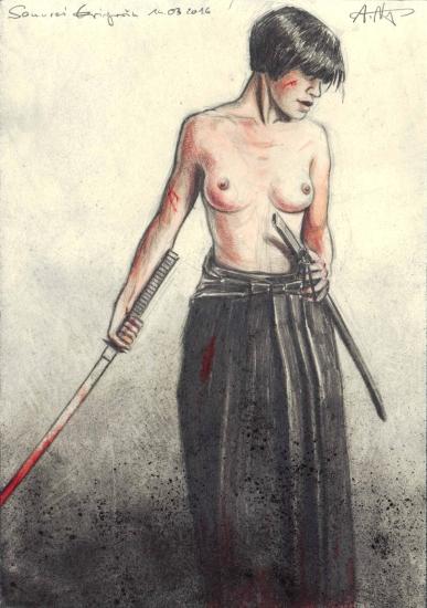 Female Samurai Warrior