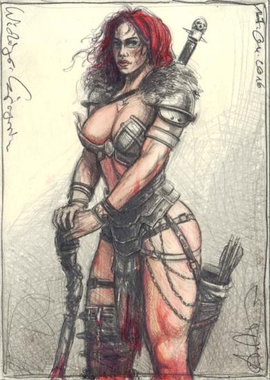 Female Viking Warrior