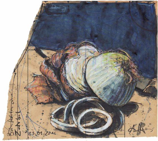 Peeling an an onion