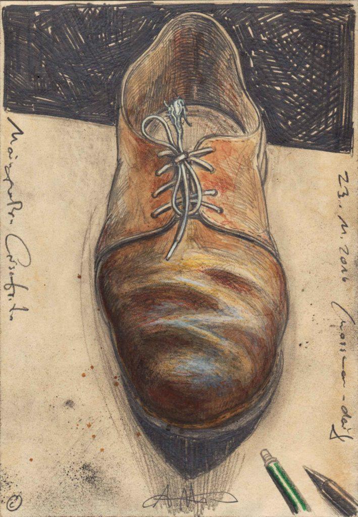 My great silence shoe