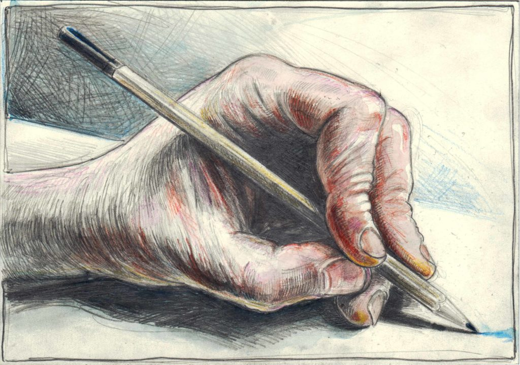 Left Hand drawing