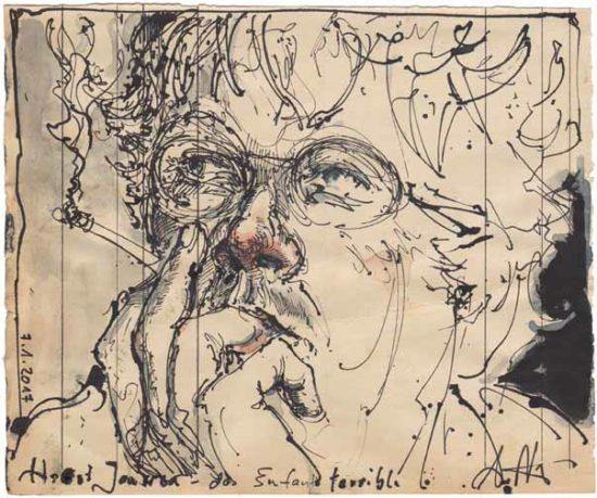 Horst Janssen - the enfant terrible