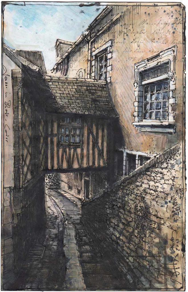 Alley of Bloir - Loire