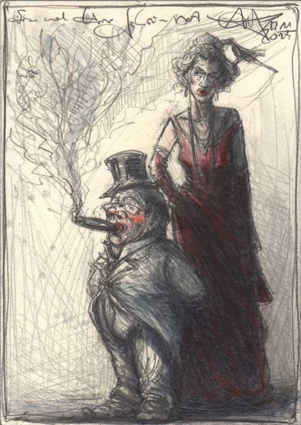 Wife and gentleman privy councilor