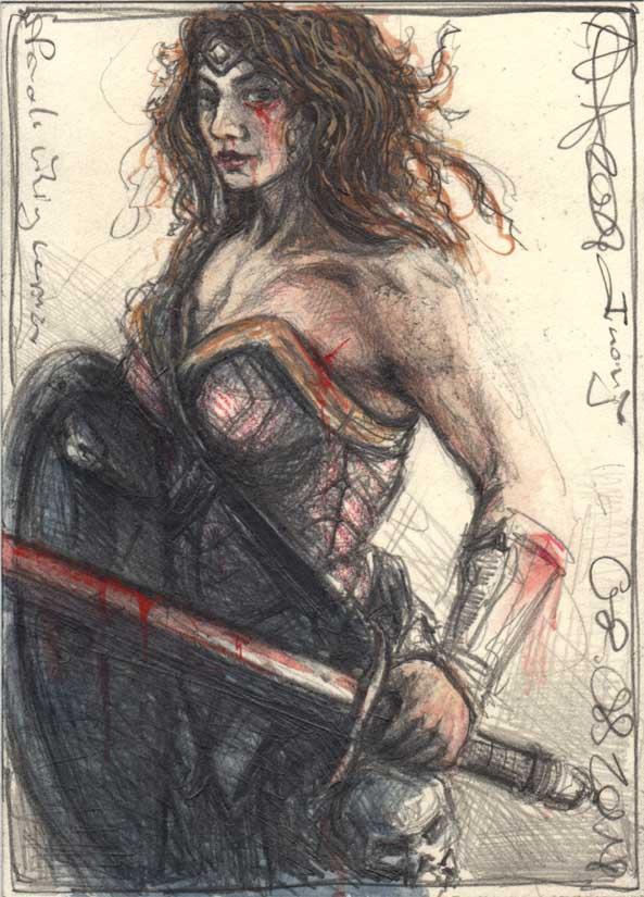 Fronja, female viking warrior