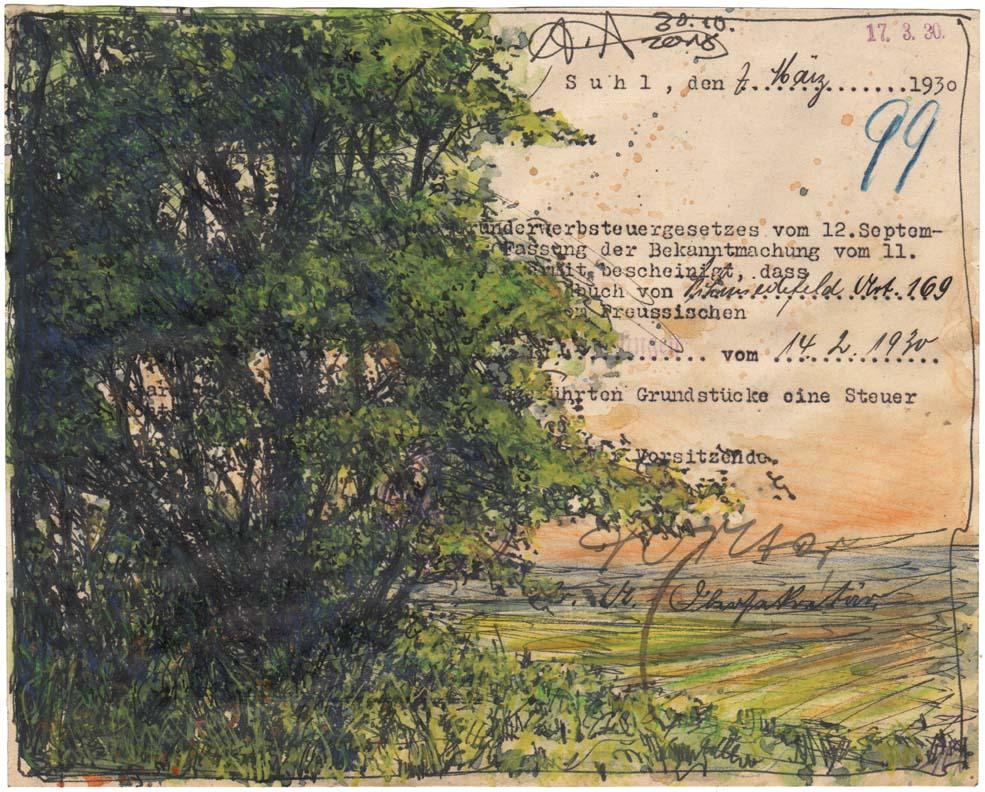 Suhl, March 1930