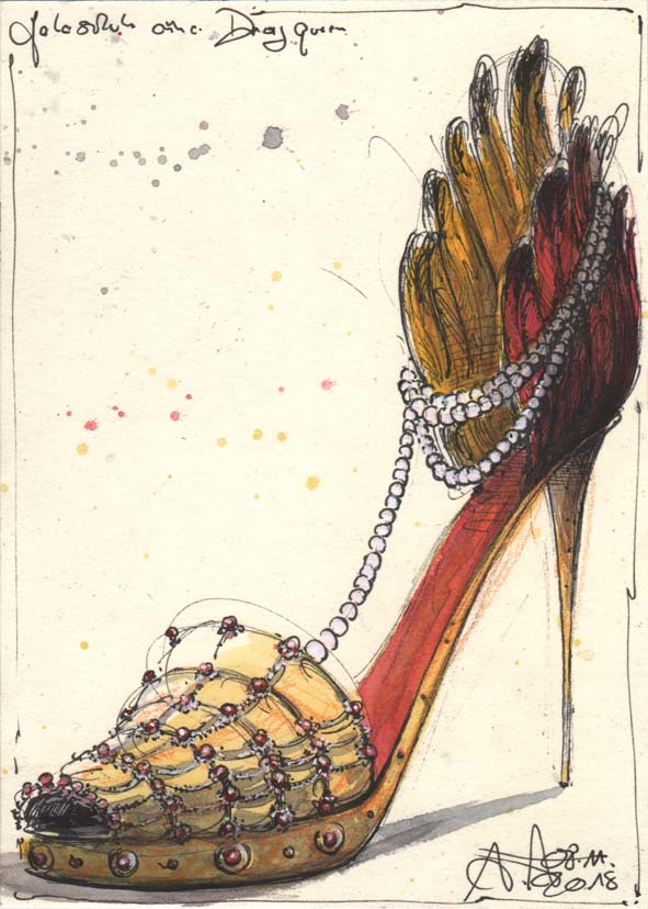 Galashoe of a dragqueen