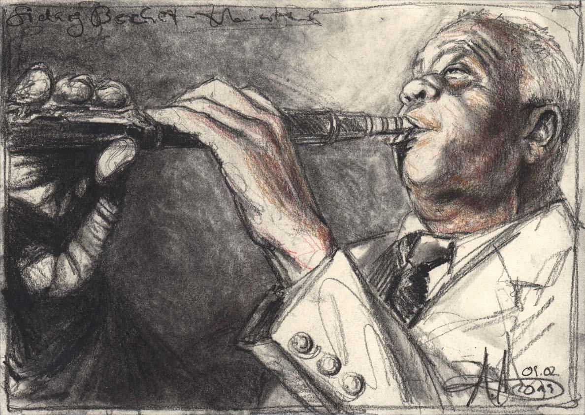 Sidney Bechet  – Clarinet