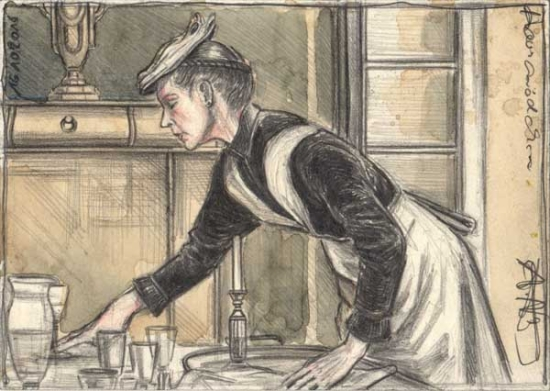 house-maid